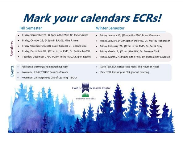 ECR Save the Date